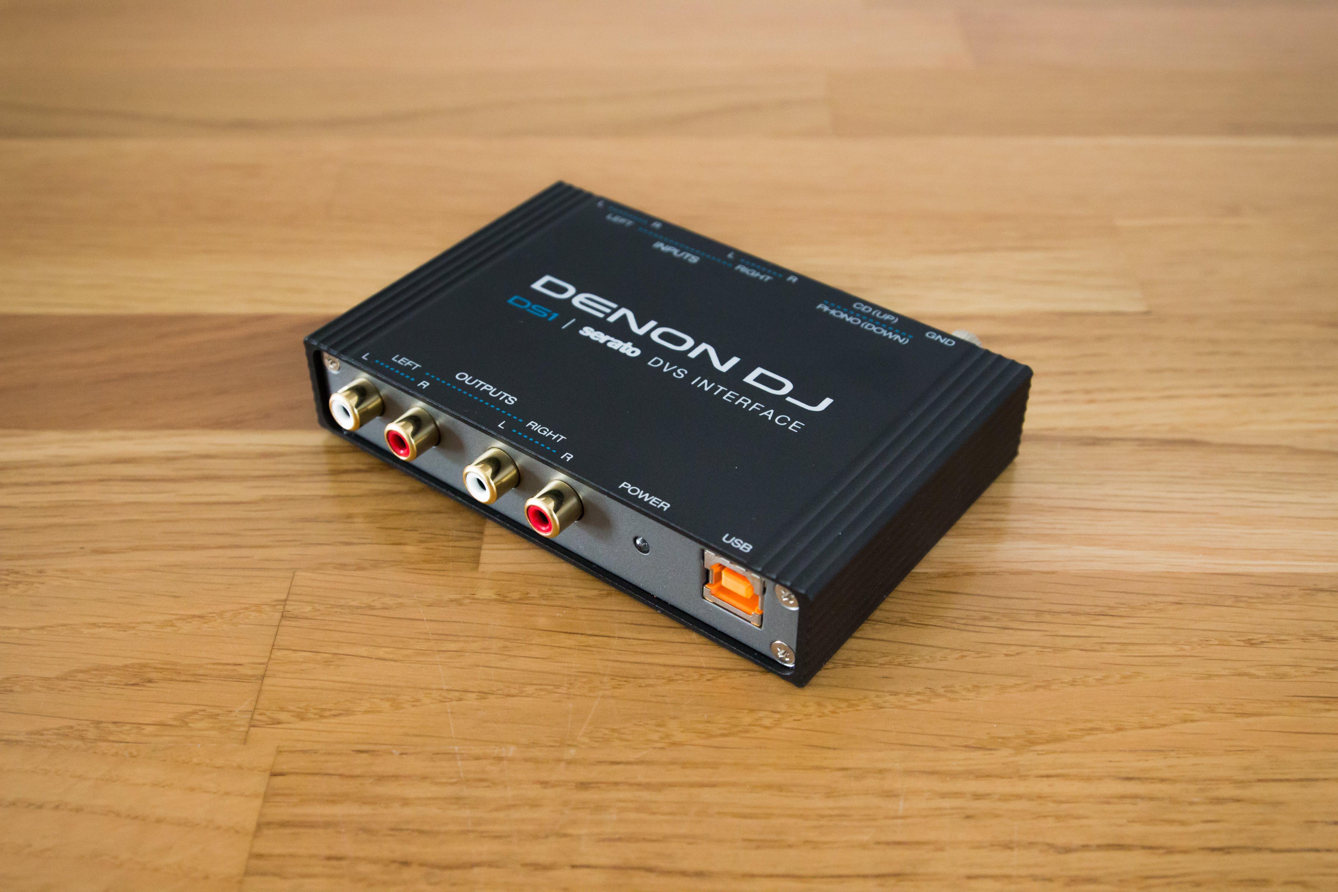 Denon DS1 Serato DJ Soundkarte