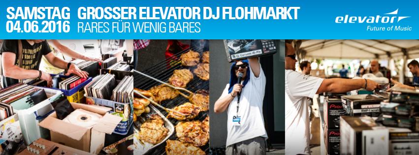Elevator DJ Flohmarkt 2016