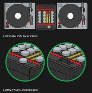 Lego Turntables DJ Setup im Detail