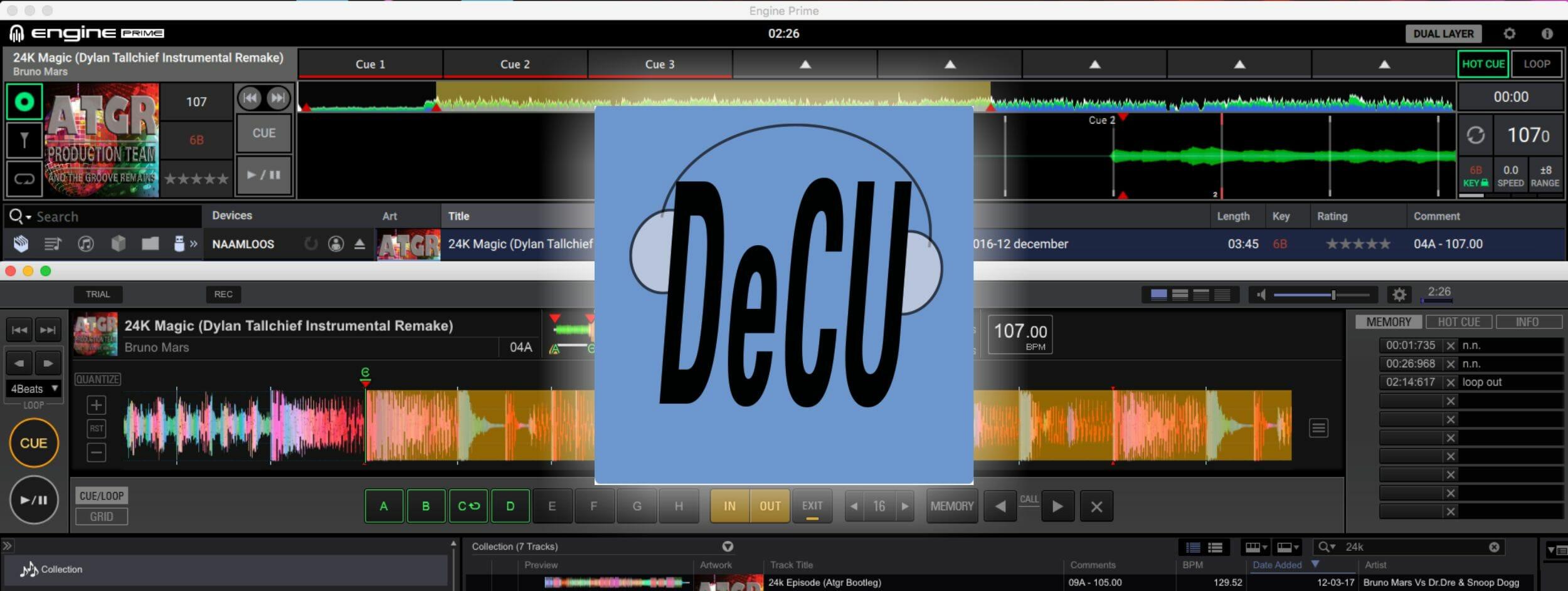 DeCU - Denon Conversion Utility