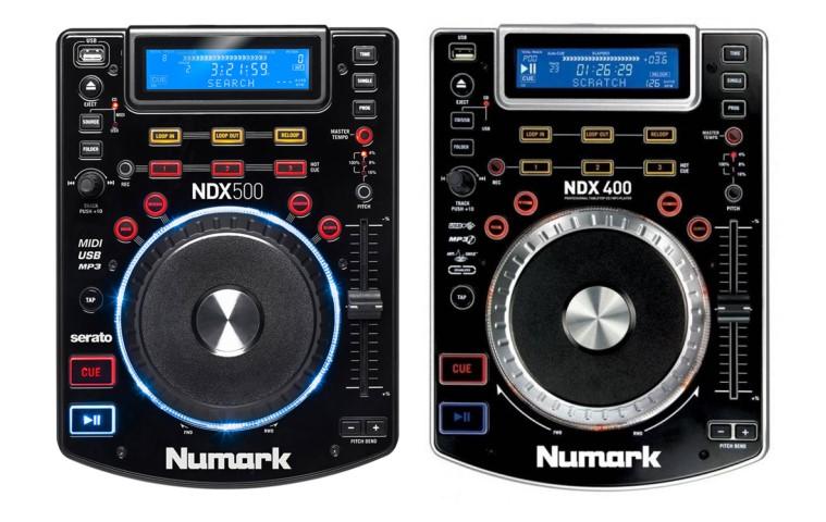 NDX500 und NDX400 im Vergleich