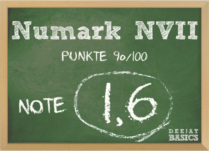Numark NVII Wertung