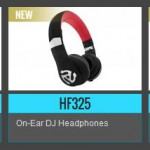 Numarks neue HF Kopfhoerer Reihe