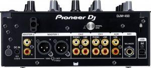 Pioneer DJ DJM-450 Anschlüsse