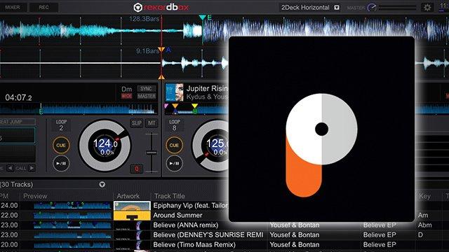 Rekordbox DJ streamt via Pulselocker