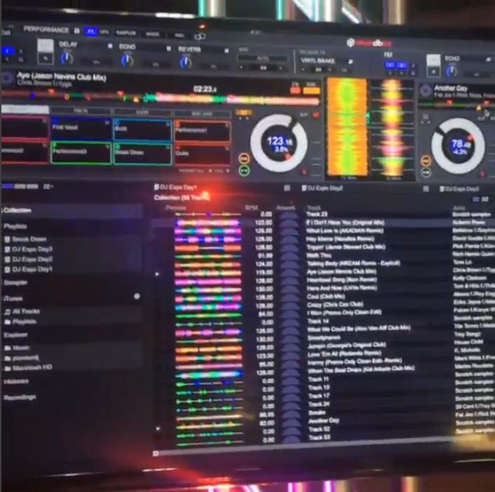Rekordbox Beta Screenshot bei der DJ Expo 2015