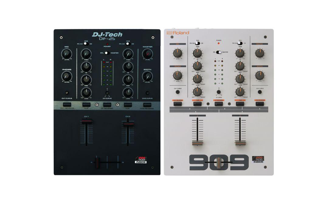 DJ-Tech DIF-2S & Roland DJ-99