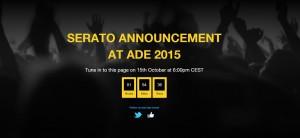 Serato Livestream auf dem ADE 2015
