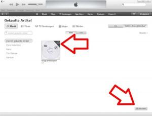 U2 Songs Of Innocence bei iTunes - Schritt 4