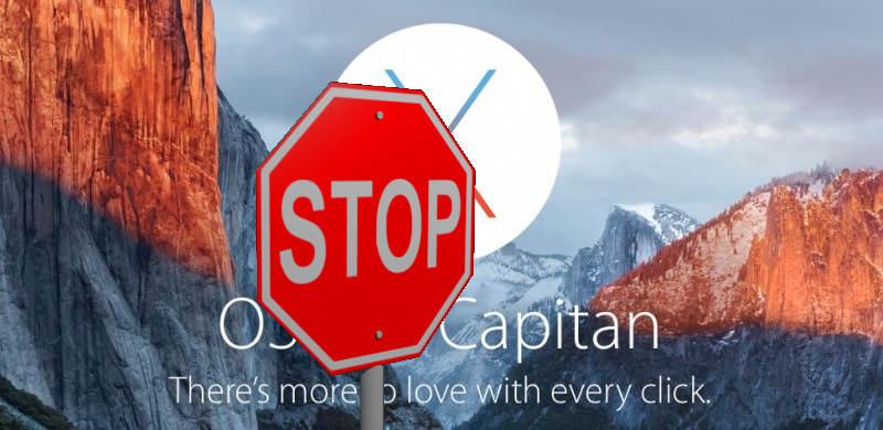 OSX Update Warnung