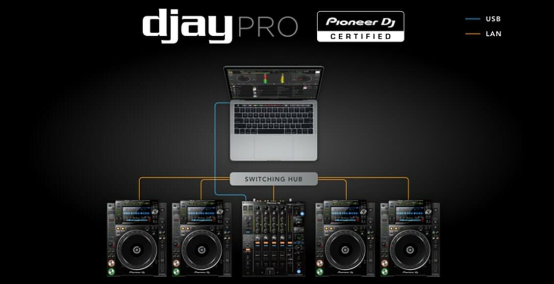 djay Pro Lan-Link Setup