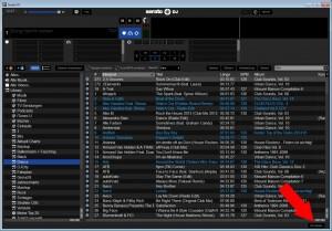 Serato DJ - My Serato Panel anzeigen