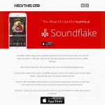 Soundflake iOS App